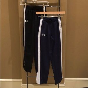 Two UA Sweatpants